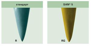 Оптимальная форма острия иглы для сложных комбинированных материалов Groz-Becker SAN5 GEBEDUR
